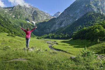 Val d Aran in den Pyrenäen