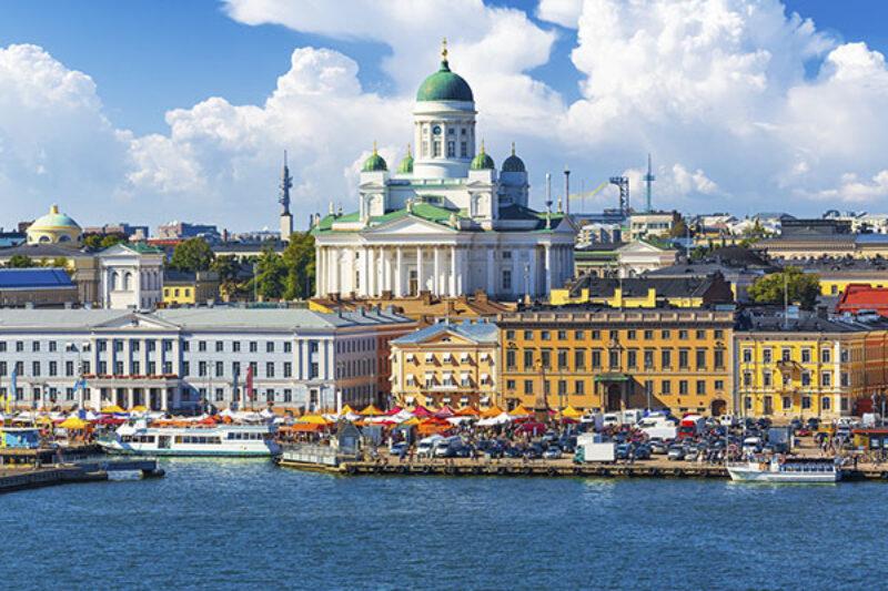 Panorama von Helsinki