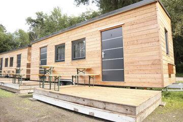 Hochwertige Mobilheime auf dem Campingplatz Regental Aktiv Camping