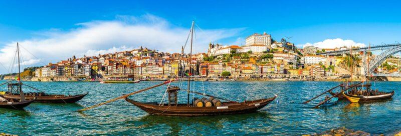 Der Hafen von Porto - Portugal eine Seefahrernation