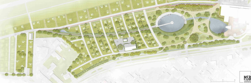 Umbauplan des Campingplatzes Neuharlingersiel