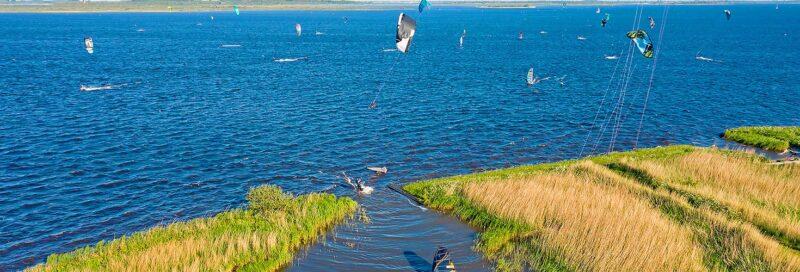 Wassersportler in Friesland