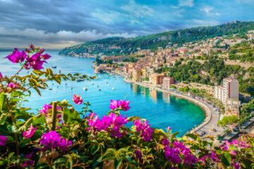 Glamour pur: Nizza an der französischen Mittelmeerküste © Balate Dorin