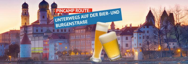 PiNCAMP Route- Bier und Burgenstrasse