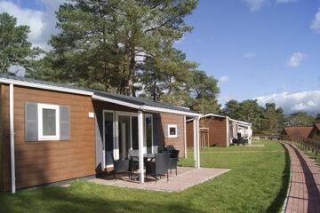 Mobilheim im Grünen auf dem Campingpark