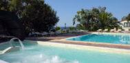 Schönes Freibad am Campinglatz Villaggio dei Fiori