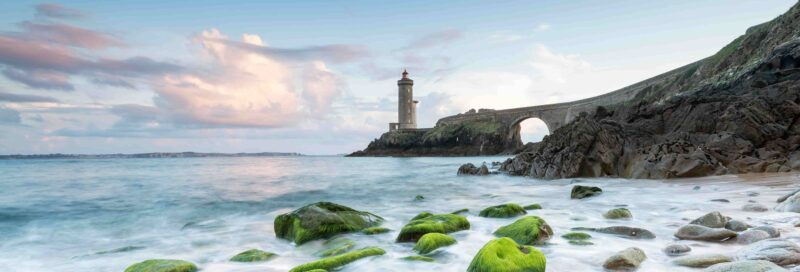 Leuchtturm Minou in der Bretagne in Finistere