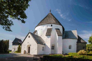 Die größte Rundkirche auf Bornholm, Østerlars Rundkirke