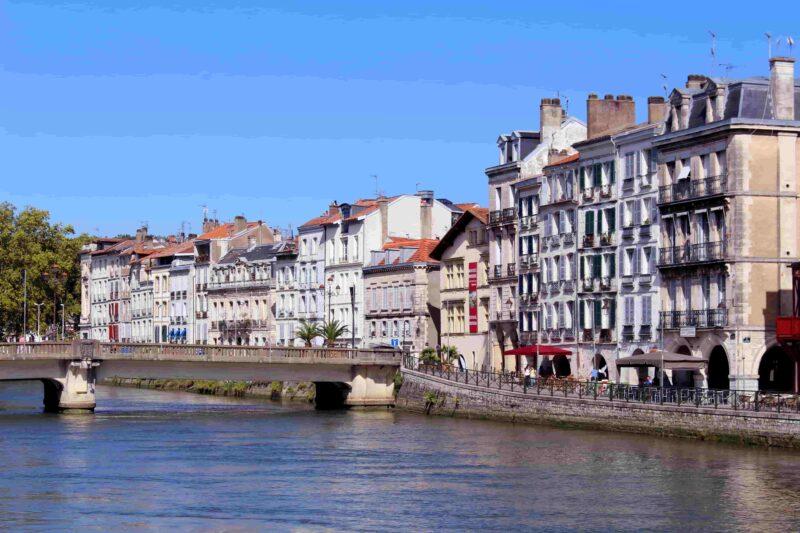Französische Stadt Bayonne