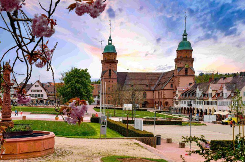 Freudenstadt im Schwarzwald, Marktplatz und Stadtkirche