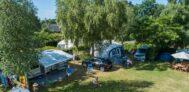 Der Wohnwagen- und Zeltstellplatz