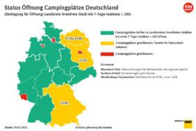 Camping zu Pfingsten: Ansturm auf die letzten freien Plätze