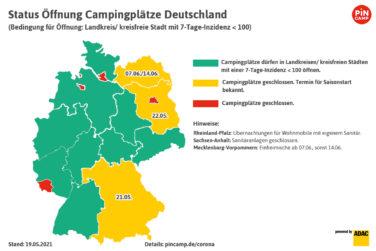 2.200 Plätze in Deutschland und Europa sofort online buchbar